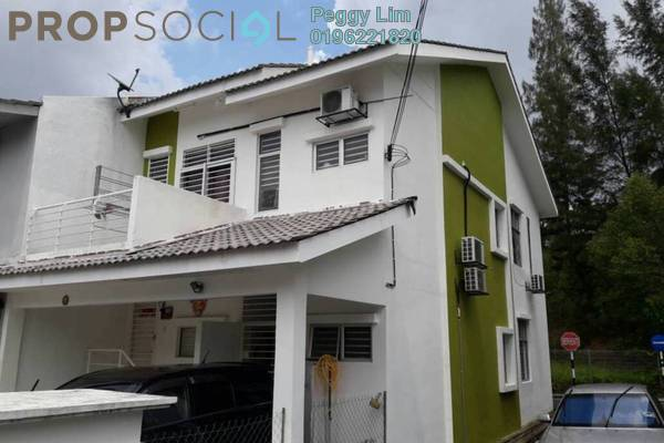 For Sale Townhouse at Taman Tasik Prima, Puchong Freehold Semi Furnished 3R/2B 420k