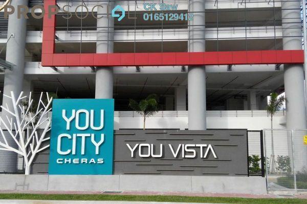For Rent Condominium at You Vista @ You City, Batu 9 Cheras Freehold Semi Furnished 3R/2B 1.4k
