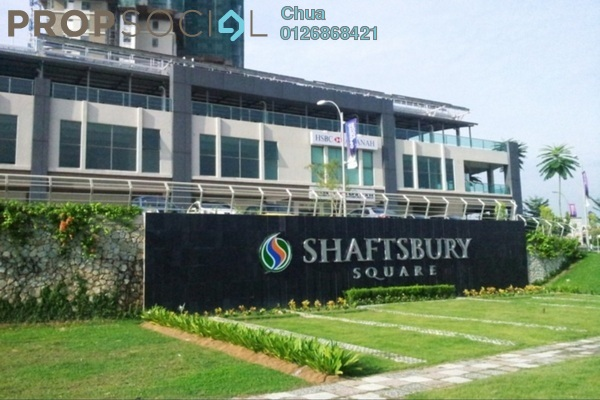 For Rent Condominium at Shaftsbury Square, Cyberjaya Freehold Semi Furnished 1R/1B 1.3k