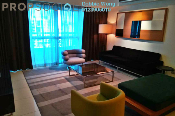 For Rent Condominium at Tiffani Kiara, Mont Kiara Freehold Fully Furnished 3R/3B 5.5k
