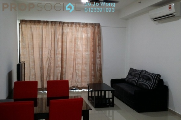 For Rent Condominium at i-City, Shah Alam Freehold Fully Furnished 2R/2B 1.8k