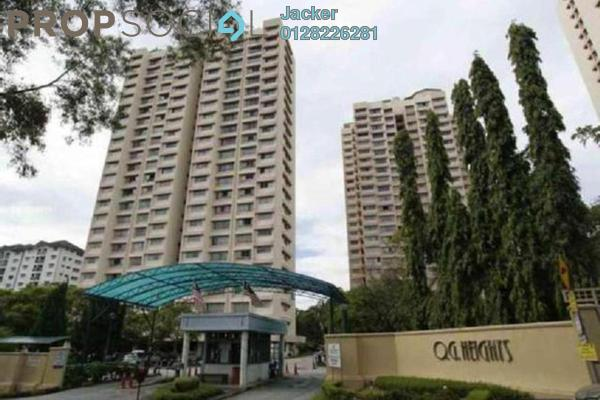 For Rent Condominium at OG Heights, Old Klang Road Freehold Fully Furnished 2R/2B 1.3k