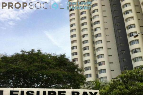 For Rent Condominium at Leisure Bay, Tanjung Tokong Freehold Fully Furnished 3R/2B 2.5k