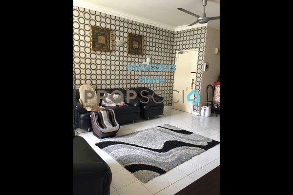 For Rent Apartment at Taman Sri Ukay, Ukay Freehold Fully Furnished 3R/2B 1.25k