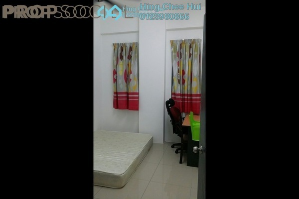 For Rent Condominium at Mahkota Garden Condominium, Bandar Mahkota Cheras Freehold Fully Furnished 4R/3B 1.4k