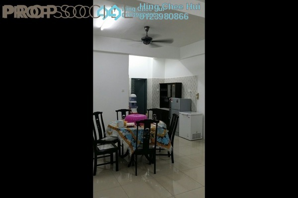 For Rent Condominium at Mahkota Garden Condominium, Bandar Mahkota Cheras Freehold Fully Furnished 4R/3B 1.6k