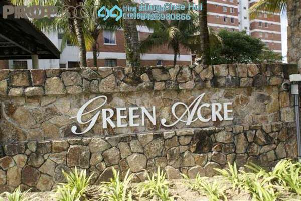 For Sale Condominium at Green Acre Park, Bandar Sungai Long Freehold Semi Furnished 3R/2B 399k