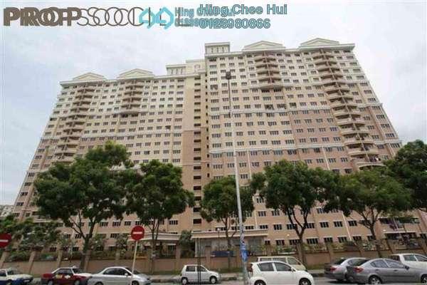 For Rent Condominium at Cengal Condominium, Bandar Sri Permaisuri Leasehold Semi Furnished 3R/2B 1.6k