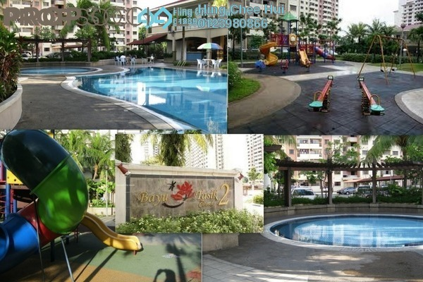 For Rent Condominium at Bayu Tasik 2, Bandar Sri Permaisuri Leasehold Semi Furnished 3R/2B 1.55k