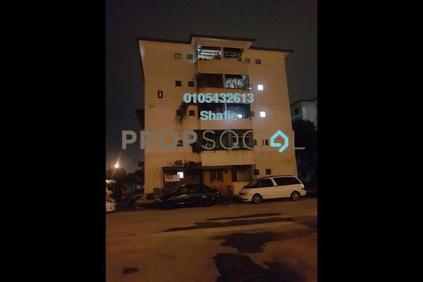 For Sale Apartment at Puchong Utama Court 1, Bandar Puchong Utama Leasehold Unfurnished 3R/2B 192k
