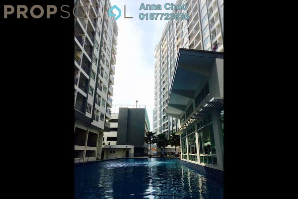 For Sale Condominium at Casa Tropika, Puchong Freehold Semi Furnished 4R/2B 460k