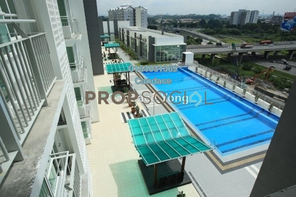 For Sale Serviced Residence at Menara U, Shah Alam Leasehold Fully Furnished 2R/1B 319k