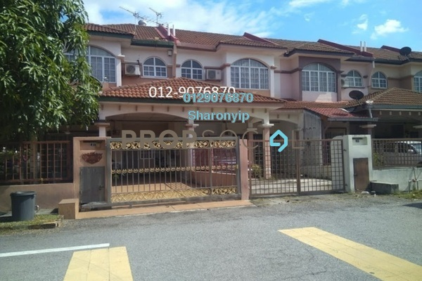 For Rent Terrace at SL7, Bandar Sungai Long Freehold Semi Furnished 4R/3B 1.4k