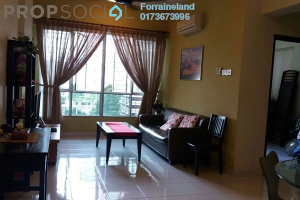 For Rent Condominium at e-Tiara, Subang Jaya Freehold Fully Furnished 1R/1B 1.1k