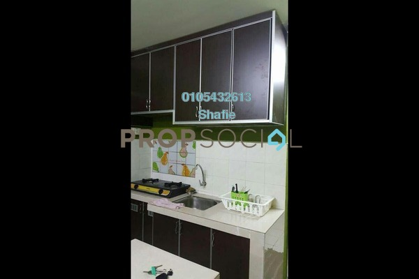 For Rent Apartment at Sri Penara, Bandar Sri Permaisuri Freehold Fully Furnished 3R/2B 1.2k