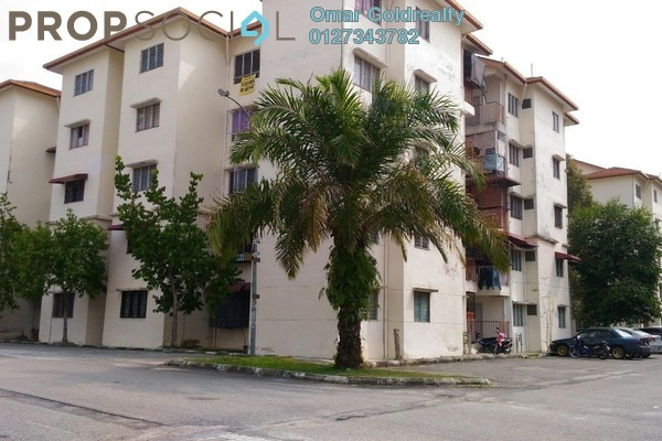 For Sale Condominium at Oakwood Court Apartment, Rawang Freehold Unfurnished 3R/1B 65k