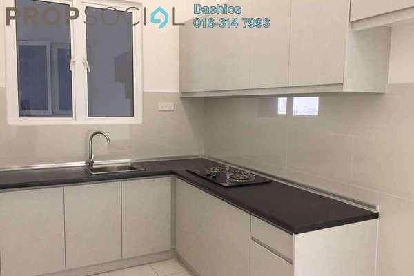 For Rent Condominium at Skypod, Bandar Puchong Jaya Freehold Semi Furnished 1R/1B 1.2k