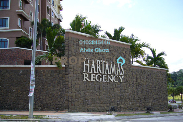 For Rent Condominium at Hartamas Regency 1, Dutamas Freehold Fully Furnished 3R/2B 2.7k