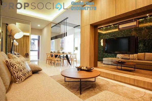 For Sale Serviced Residence at Koi Prima, Puchong Leasehold Semi Furnished 3R/2B 450k