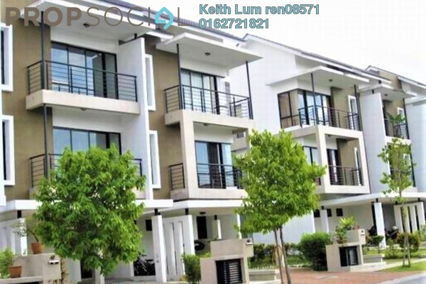 For Sale Terrace at Lake Edge, Puchong Freehold Semi Furnished 5R/4B 1.55m