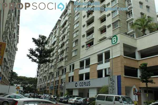 For Sale Condominium at Fortune Avenue, Kepong Freehold Semi Furnished 3R/2B 525k