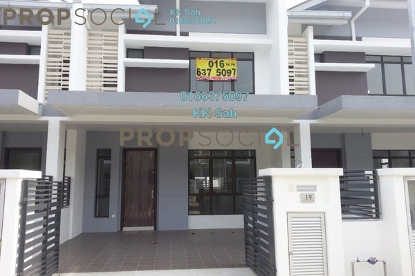 For Sale Terrace at M Residence 2, Rawang Freehold Semi Furnished 4R/3B 468k