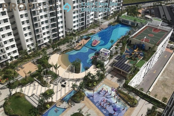 For Rent Condominium at Imperial Residences, Sungai Ara Freehold Semi Furnished 3R/2B 1.6k