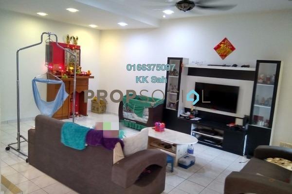 For Sale Terrace at Section 2, Bandar Mahkota Cheras Freehold Semi Furnished 4R/3B 618k