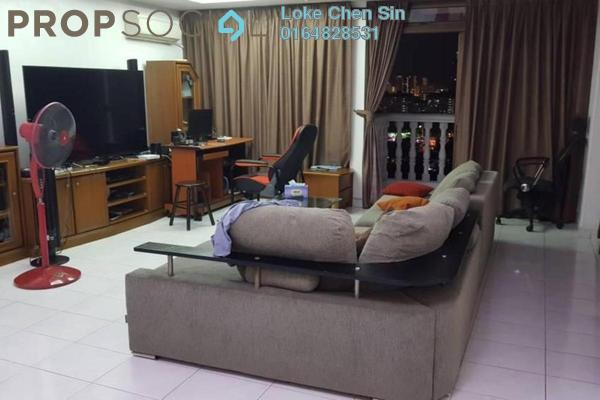 For Rent Apartment at Menara Greenview, Green Lane Freehold Fully Furnished 4R/4B 1.7k