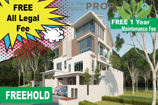 For Sale Semi-Detached at Indah Height, Bandar Sungai Long Freehold Unfurnished 5R/6B 1.86m