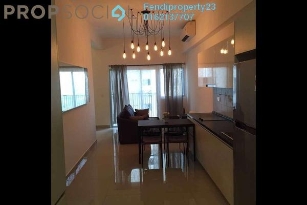 For Sale Condominium at The Wharf, Puchong Freehold Fully Furnished 0R/1B 355k