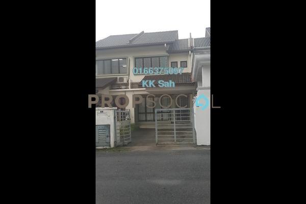 For Rent Terrace at Section 2, Bandar Mahkota Cheras Freehold Semi Furnished 4R/3B 1k