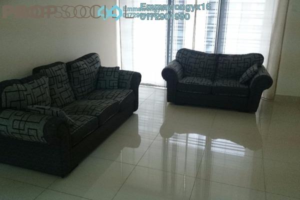 For Rent Condominium at Platinum Hill PV2, Setapak Freehold Semi Furnished 3R/2B 1.9k