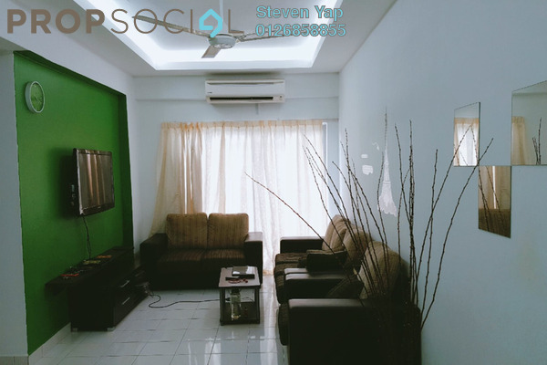 For Sale Apartment at Mas KiPark Damansara, Kepong Freehold Semi Furnished 3R/2B 438k