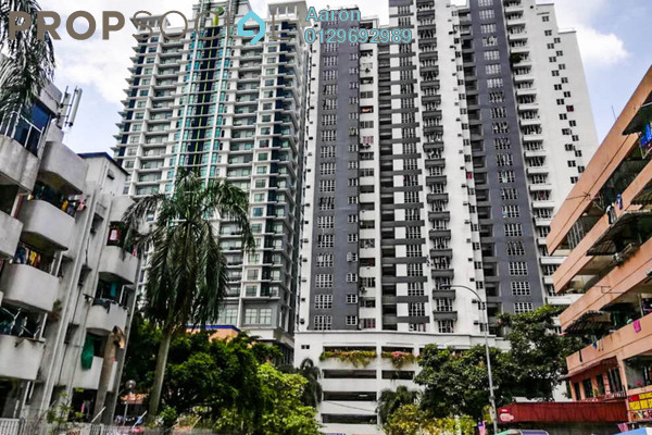 For Rent Condominium at Sri Emas, Pudu Freehold Fully Furnished 4R/2B 2.7k