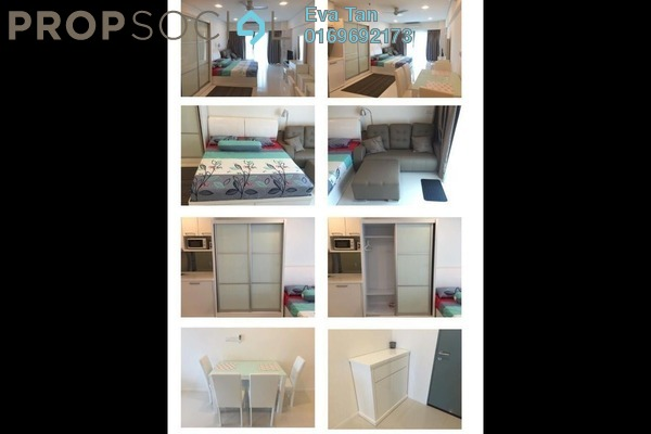 For Sale Serviced Residence at Summer Suites, KLCC Freehold Semi Furnished 1R/1B 520k