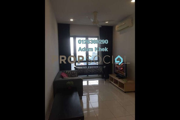 For Rent Condominium at Tropicana City Tropics, Petaling Jaya Freehold Fully Furnished 2R/2B 2k