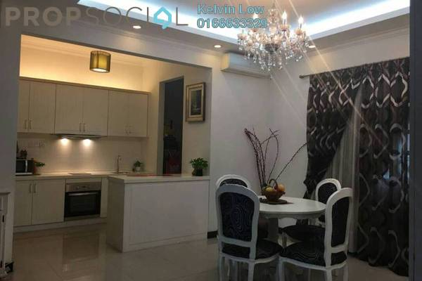 For Sale Condominium at Nautica Lake Suites @ Sunway South Quay, Bandar Sunway Freehold Fully Furnished 4R/3B 970k
