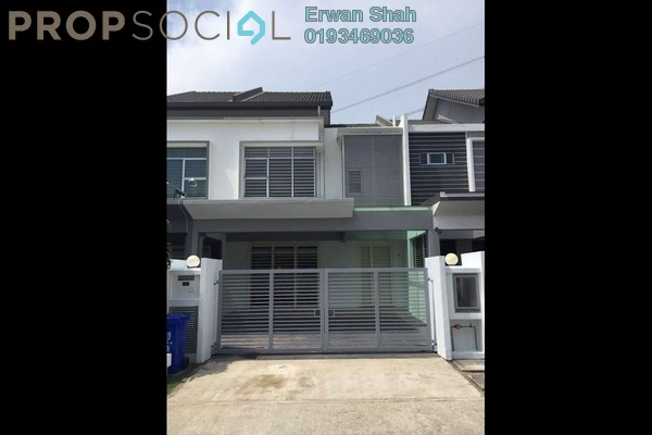 For Sale Terrace at Kemuning Utama Commercial Centre, Kemuning Utama Freehold Semi Furnished 4R/4B 750k