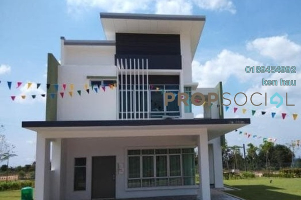 For Sale Terrace at Méranti, HillPark Leasehold Semi Furnished 4R/3B 476k