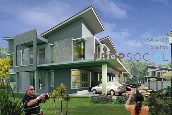 For Sale Terrace at Bandar Saujana Utama, Sungai Buloh Leasehold Semi Furnished 4R/3B 476k
