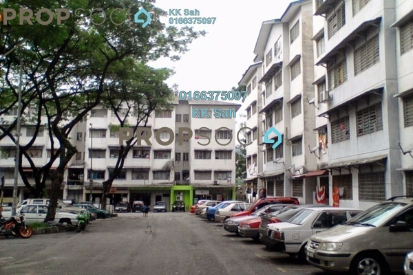 For Sale Apartment at Sri Cempaka Flat, Bandar Sri Damansara Freehold Unfurnished 2R/1B 99k