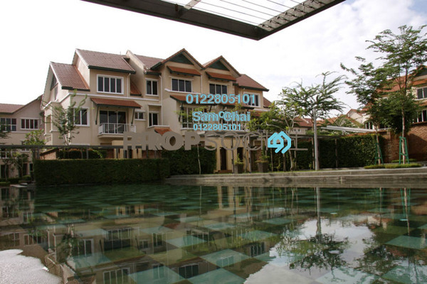 For Sale Terrace at Adora, Desa ParkCity Freehold Semi Furnished 4R/4B 2.1m