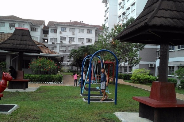 For Rent Apartment at Fairville, UEP Subang Jaya Freehold Unfurnished 3R/2B 1.2k