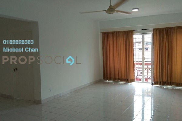 For Rent Apartment at Kayangan Apartment, Bandar Sunway Freehold Semi Furnished 3R/2B 1.3k