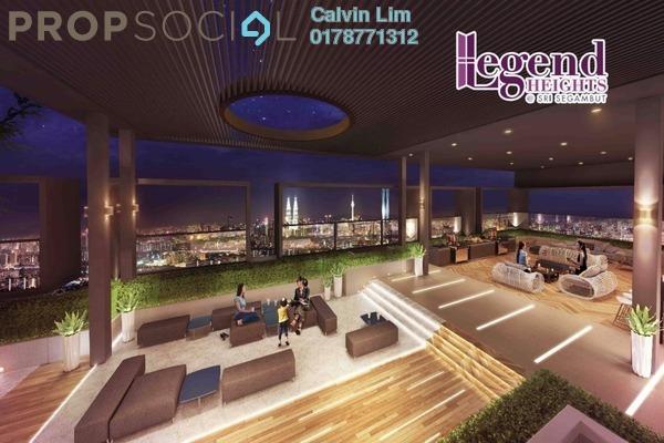 For Sale Condominium at Taman Sri Sinar, Segambut Leasehold Semi Furnished 3R/2B 473k