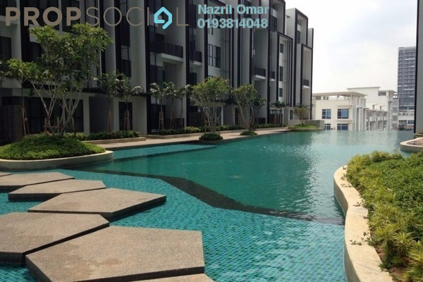 For Rent Serviced Residence at i-City, Shah Alam Freehold Semi Furnished 4R/3B 2k