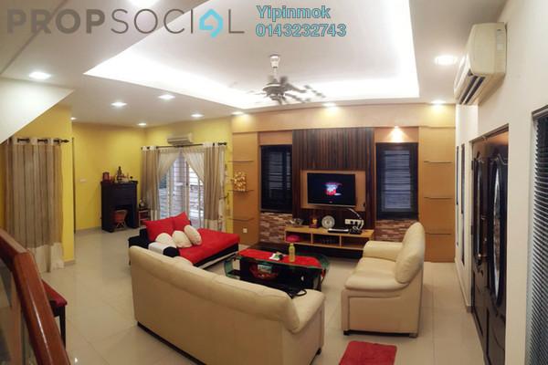 For Sale Terrace at Sunway SPK Damansara, Kepong Freehold Semi Furnished 4R/3B 1.8m