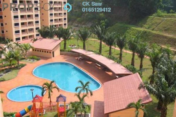 For Rent Condominium at Putra Villa, Gombak Freehold Semi Furnished 3R/2B 1.6k