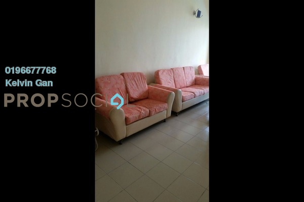 For Rent Apartment at Palm Garden Apartment, Klang Freehold Semi Furnished 3R/2B 1.2k